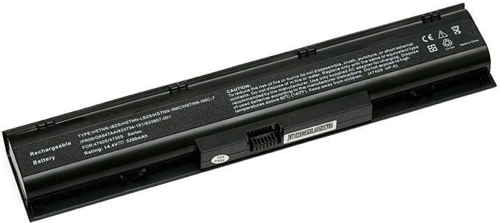 Аккумулятор для ноутбука HP ProBook 4730s (HSTNN-IB2S) 14.4V 5200mAh PowerPlant