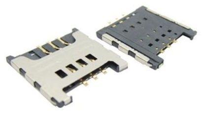 (Коннектор) Разъем SIM-карты Samsung i9250 / C3520 / C3780 / E1180 / E1200 / E1280 / E2250 / S3570 / S5301 / S6102 / S6802 / B5510