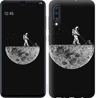 Эксклюзивный чехол на телефон Samsung Galaxy A70 2019 A705F Moon in dark