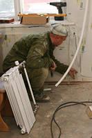 Ремонт радиатора отопления. Киев