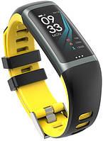 Фитнес-браслет Greentiger G26 ( Bakeey G26 ) | IP67 | Тонометр | Желтый | Гарантия
