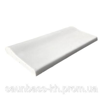 Копинговый камень Aquazone 320x500x50-25 мм, белый
