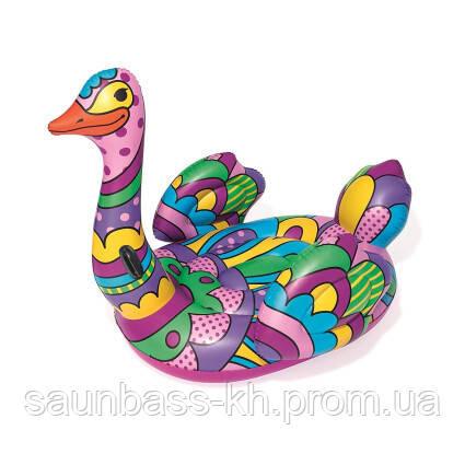 Круг для плавания Bestway 41117 Поп-арт страус (190х166 см)