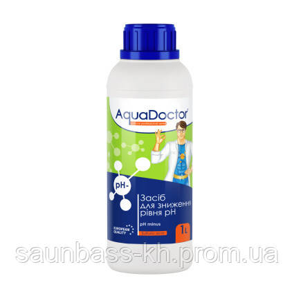 AquaDoctor AquaDoctor pH Minus (Серная 35%) 1 л.