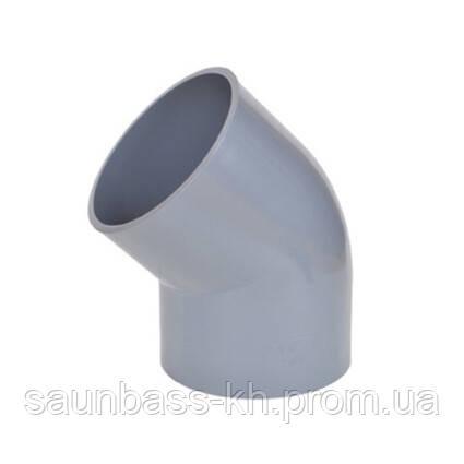 Aquaviva Колено ПВХ Aquaviva 45°/32 мм