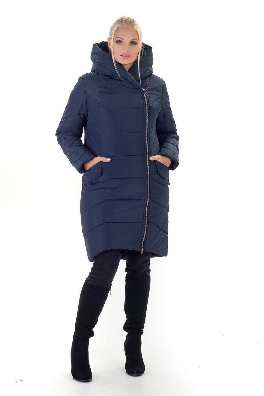 Актуальная зимняя куртка кокон, разные цвета