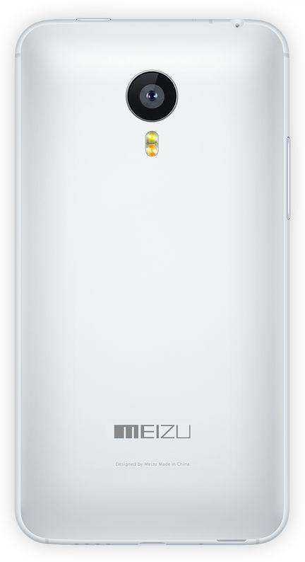 Задняя крышка корпуса Meizu MX4 Original White