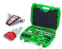 ✅ Набор инструментов 72 ед.Intertool ET-6072SP + набор ключей 12 ед.HT-1203 +Набор ударных отверток 6 шт HT-0403