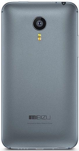 Задняя крышка корпуса Meizu MX4 Grey
