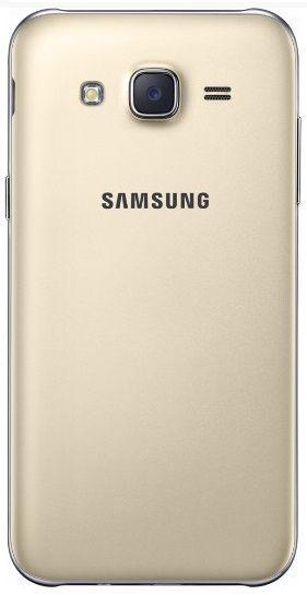 Задняя крышка корпуса Samsung Galaxy J7 2015 J700H  Gold