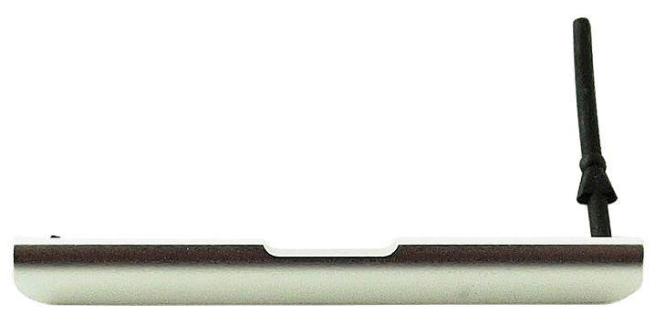 Заглушка разъема SIM-карты и карты памяти Sony F3111 Xperia XA / F3112 Xperia XA Dual Silver