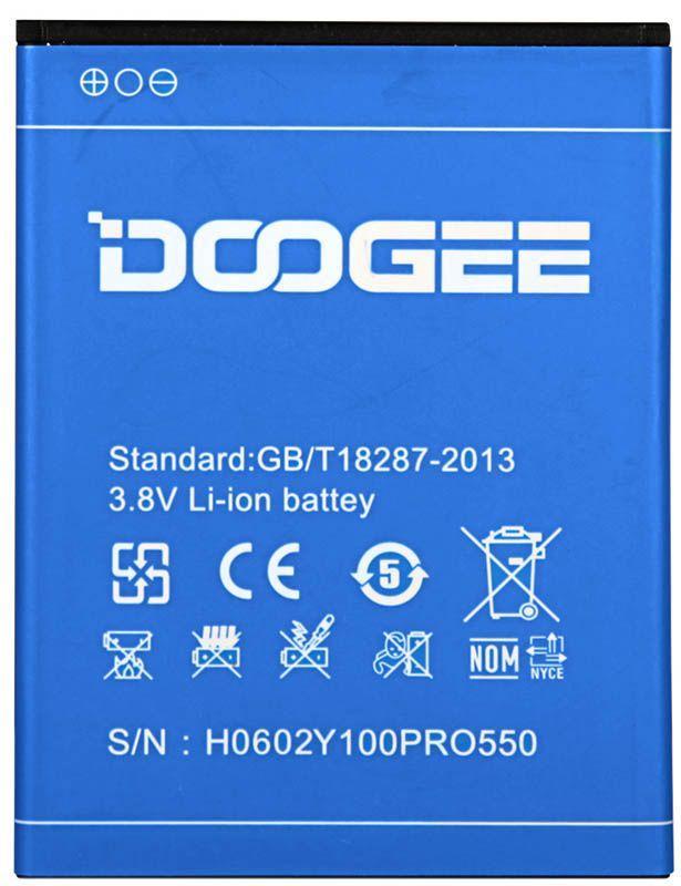 Аккумулятор DOOGEE VALENCIA 2 Y100 Pro (2200 mAh) Original