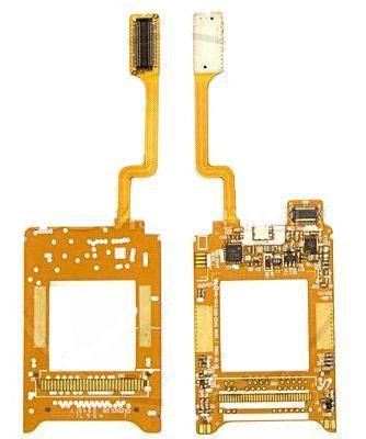 Шлейф Samsung E640 с компонентами