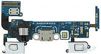 Шлейф Samsung A500H Galaxy A5 / A500F Galaxy A5 Duos / A500FU Galaxy A5 нижняя плата с разъемом зарядки и наушников rev 0.3