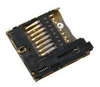 (Коннектор) Разъем карты памяти Nokia 200 Asha / 201 Asha / 2690 / 2700c / 2730c / 300 Asha / 3120c / 3600s / 5130 / 5320 / 5530 / 5630 / 5700 / 5730