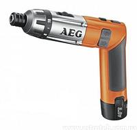 Аккумуляторная отвертка AEG SE3.6LI, 3.6В, 2х1, 5А/ч, 200/600 об/мин., 6.5Нм, Li-Ion, 0.6кг MTG