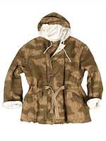 Куртка камуфляжная зимняя двухсторонняя утепленная (ватин) 2-я модель Вермахт Реплика