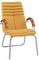 Кресло для конференц-зала GALAXY wood CFA/LB chrome