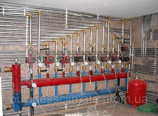 Монтаж современных систем отопления. Киев и Киевская область - фото 3
