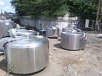 Охолоджувач молока відкритого типу DeLaval 800 л б/у в 2006 р. в. у відмінному стані