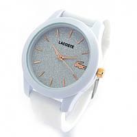 Женские часы LACOSTE white