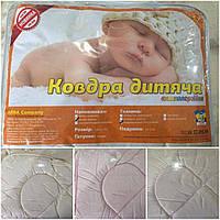 Теплое одеяло для детей, овечья шерсть, микроволокно, 105х135 см., 350/320 (цена за 1 шт. + 30 гр)