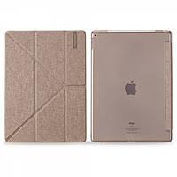 Чехолл Momax Flip Cover Case для iPad Pro 2018 Gold Transperent