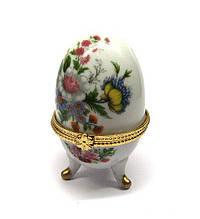 Скринька Яйце для прикрас Польові квіти