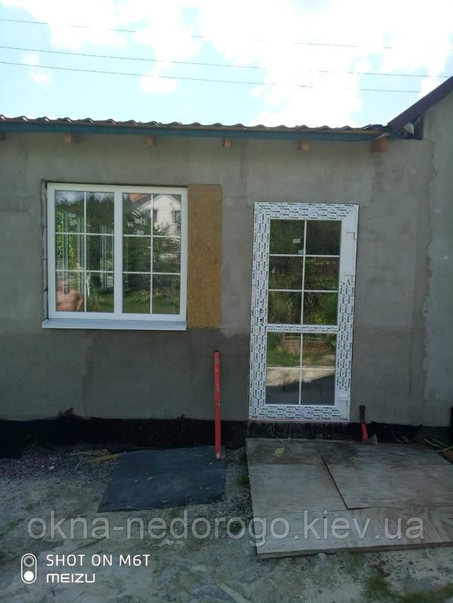 Пластиковые окна со шпросами в с.Колонщина - фото Окна Недорого