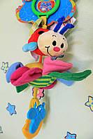 Детская игрушка от 0+ Мягкая активная игрушка БОЖЬЯ КОРОВКА тм Biba Toys