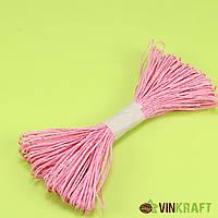 Канат декоративний рожевий (50 м)