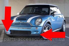 Mini Cooper S губа спойлер переднего бампера новый оригинал