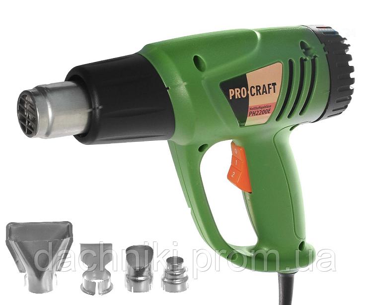 Фен промышленный PROCRAFT PH 2200 E