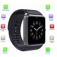 Смарт часы - телефон SMART WATCH GT08 GSM  в стиле Apple Watch  черные