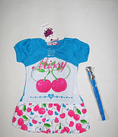 Платье Вишенка рост 92-98см