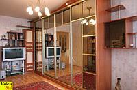 Шкаф-кровать трансформер со шкафом-купе, фото 1