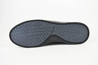 Кроссовки черные кожаные Kadar 3635253, фото 3