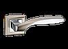 Дверные ручки MVM Z-1325 SN/CP - матовый никель/хром