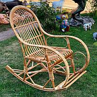 Кресло-качалка из лозы (бесплатная доставка)