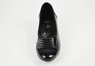 Туфли Aspena кожа лак черные 2205, фото 3