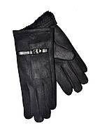 Женские перчатки замш/махра оптом от 10 пар