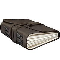 Блокнот кожаный COMFY STRAP темно-коричневый А5 (20,5х15,0х4,0 см), фото 4
