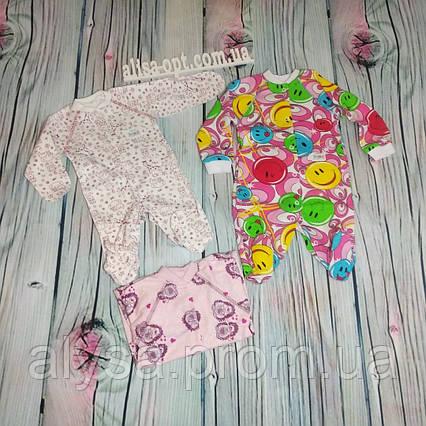 Человечек для новорожденных 973 интерлок