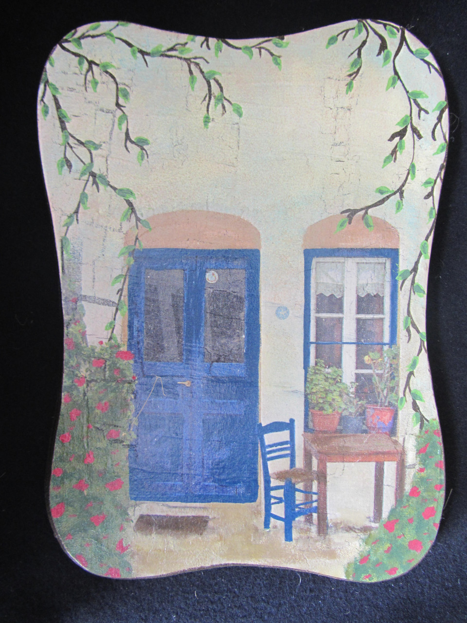 """Картина дерев'яна в стилі """"прованс"""" (декупаж, hand made), 26х19х1,5см, 100\90 (ціна за 1 шт.+10 грн"""