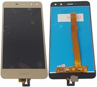 Дисплей для Huawei Y5 2017, MYA-U29 с сенсорным экраном, золотой
