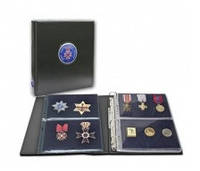 Альбом Premium SAFE (Германия) для медалей, значков орденов