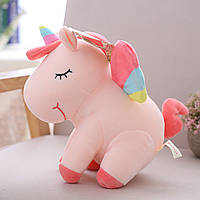 Мягкая игрушка Розовый единорог, 50см Berni
