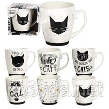 "Чашка  ""Черная кошка"" 420мл"