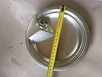 Тарелка на плиту Элна с пятаком цинк и без пятака.