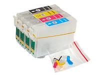 Перезаправляемые картриджи для Epson С79 ТХ209 ТХ210 TX219 TX400 TX409 TX410 TX419 CX7300 CX8300 CX9300